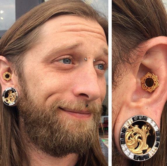 steve white piercer conch piercing